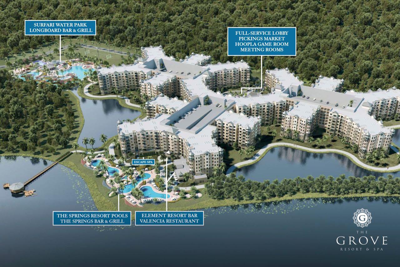 The Grove Resort & Spa Orlando Resort Condominiums For Sale